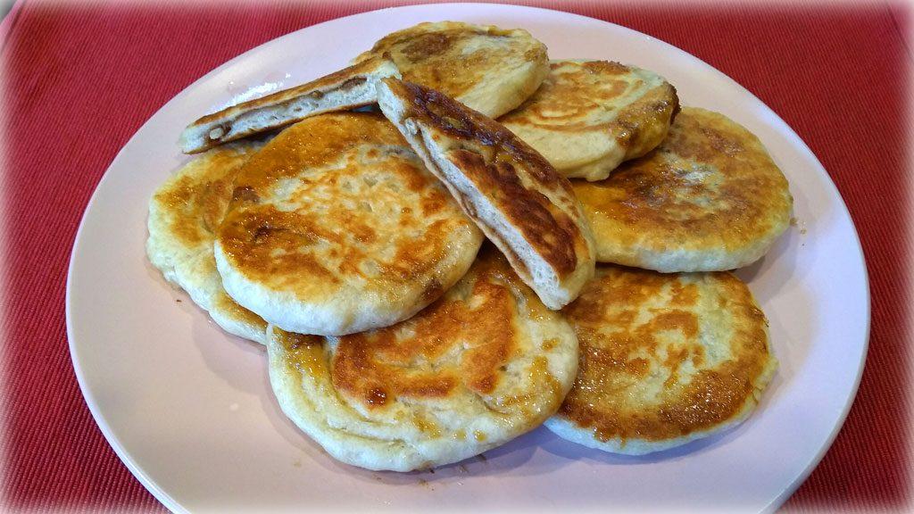 HoDdeok (꿀호떡) - Traditional Method Korean Sweet Pancakes