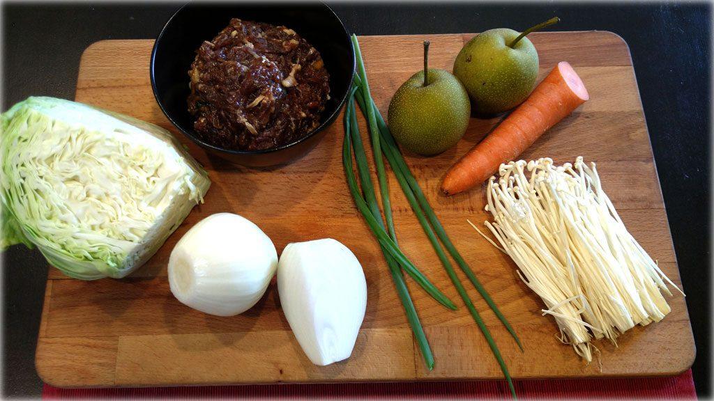 Bulgogi-Korean Marinated Beef (불고기) - Ingredients